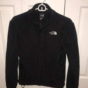 Black fuzzy north face